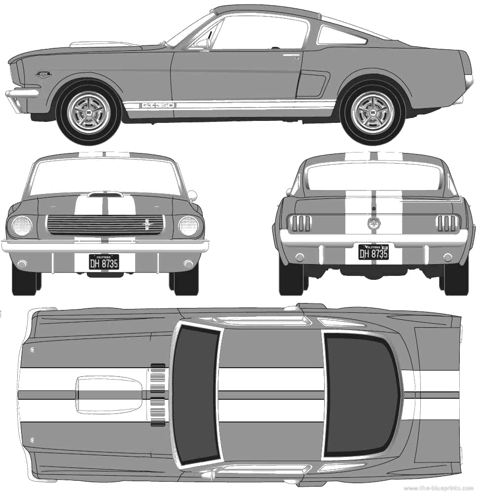 Ford mustang gt350 blueprints draccs finden sie details ber ford car blueprints ford shelby mustang gt350h blueprints ford mustang gt350 blueprints malvernweather Choice Image
