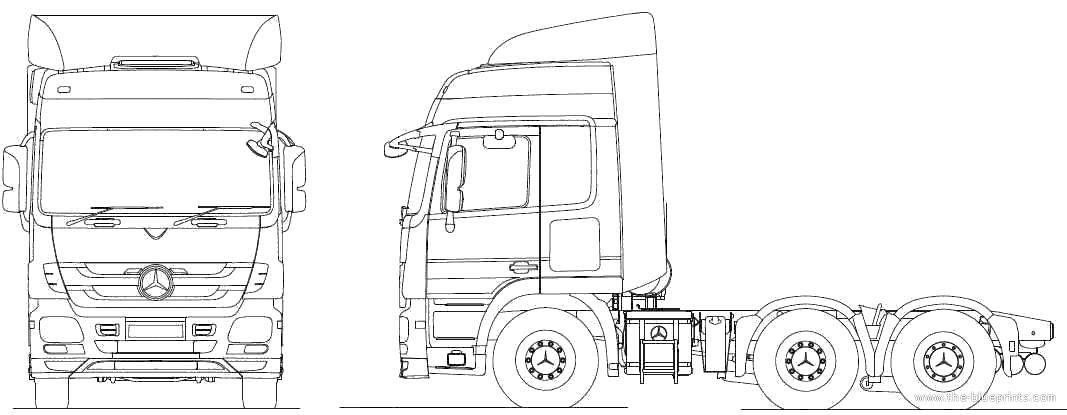 kleurplaat volvo vrachtwagen lkw malvorlagen kostenlos zum ausdrucken ausmalbilder