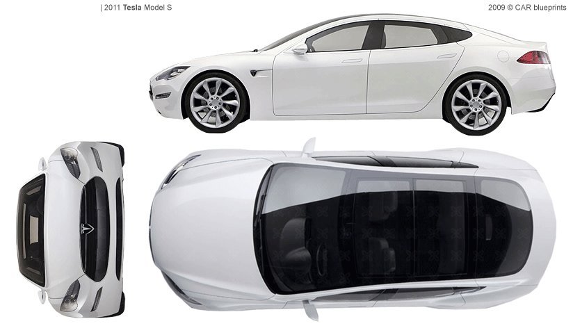 Tesla model s pdf tesla image car blueprints tesla model s blueprints vector drawings clipart malvernweather Gallery