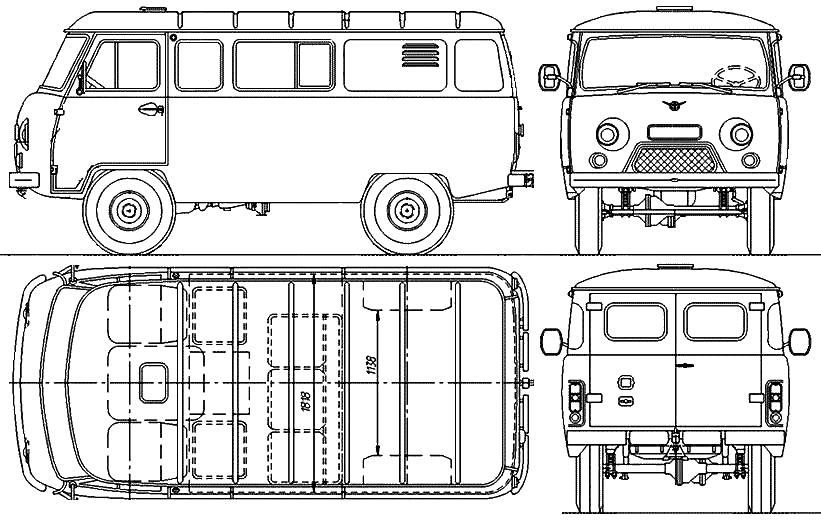 Уаз 3909 под охоту и рыбалку, уаз буханка инжектор электросхема.