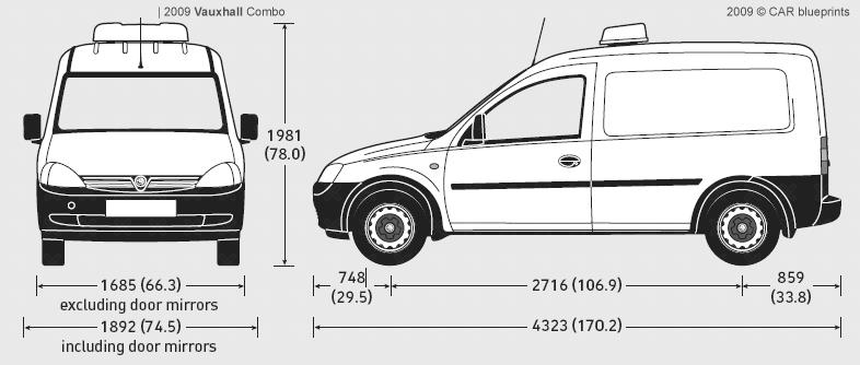 vauxhall combo van. 2009 Vauxhall Combo Van
