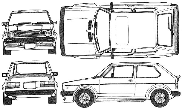 1976 Volkswagen Golf I Gti. 1976 Volkswagen Golf I GTI