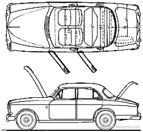 index of   blueprints  volvo