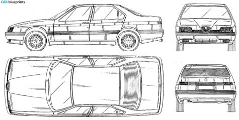 2.0 T.S. (164.H3) (144 Hp) Alfa-romeo-164