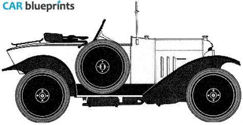 car blueprints citroen type c 5cv torpedo blueprints vector drawings clipart and pdf templates. Black Bedroom Furniture Sets. Home Design Ideas