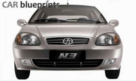 CAR blueprints - FAW <b>Vita N3</b> blueprints, vector drawings, clipart <b>...</b>
