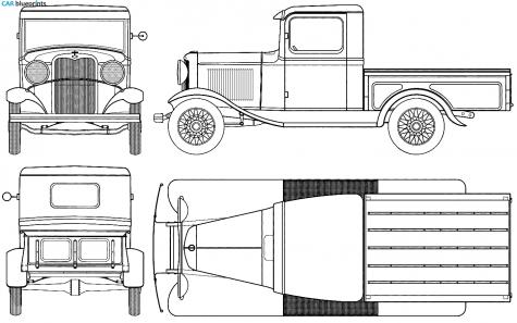 Ford Model B Pick Up 1932