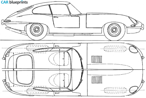 Jaguar E Type 38 Coupe 1961