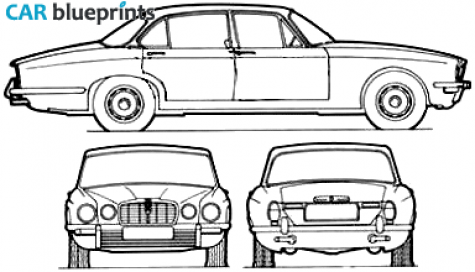 jaguar car drawing - photo #43