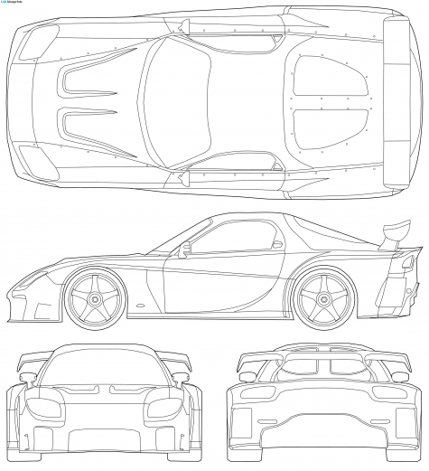 Mazda+rx7+veilside+fortune