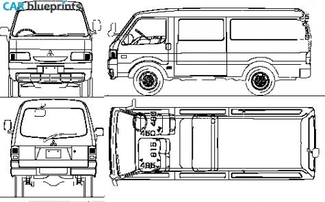 mitsubishi delica cargo van 2010 car interior design. Black Bedroom Furniture Sets. Home Design Ideas