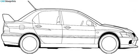 Mitsubishi Lancer Evo Ix 2006