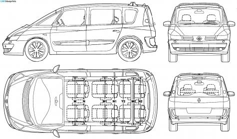 2006 Renault Espace. 2006 Renault Espace Minivan