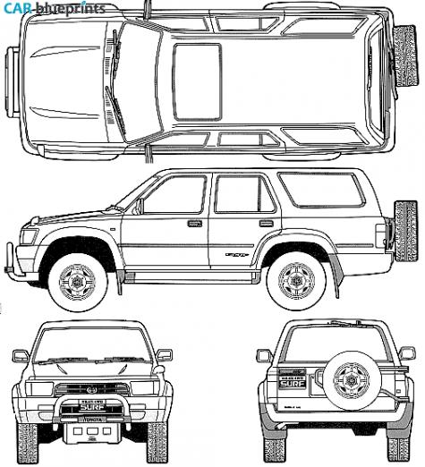 car blueprints