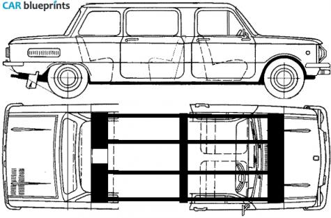 Zaz 968m Zaparozhets Limousine